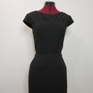 Tahari Dresses - tahari woman black dress pleats with line size 4P